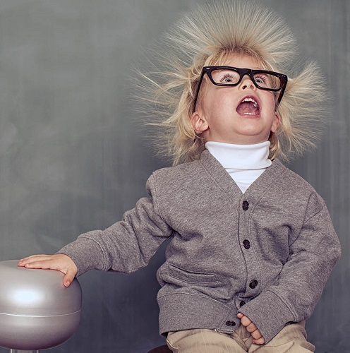 A young, intelligent nerd explores the depths of electricity.